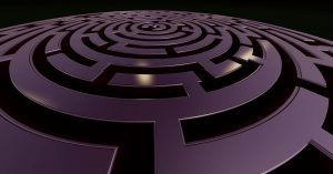 labyrinth Taylor image web design dynamic, artistic and professional website.