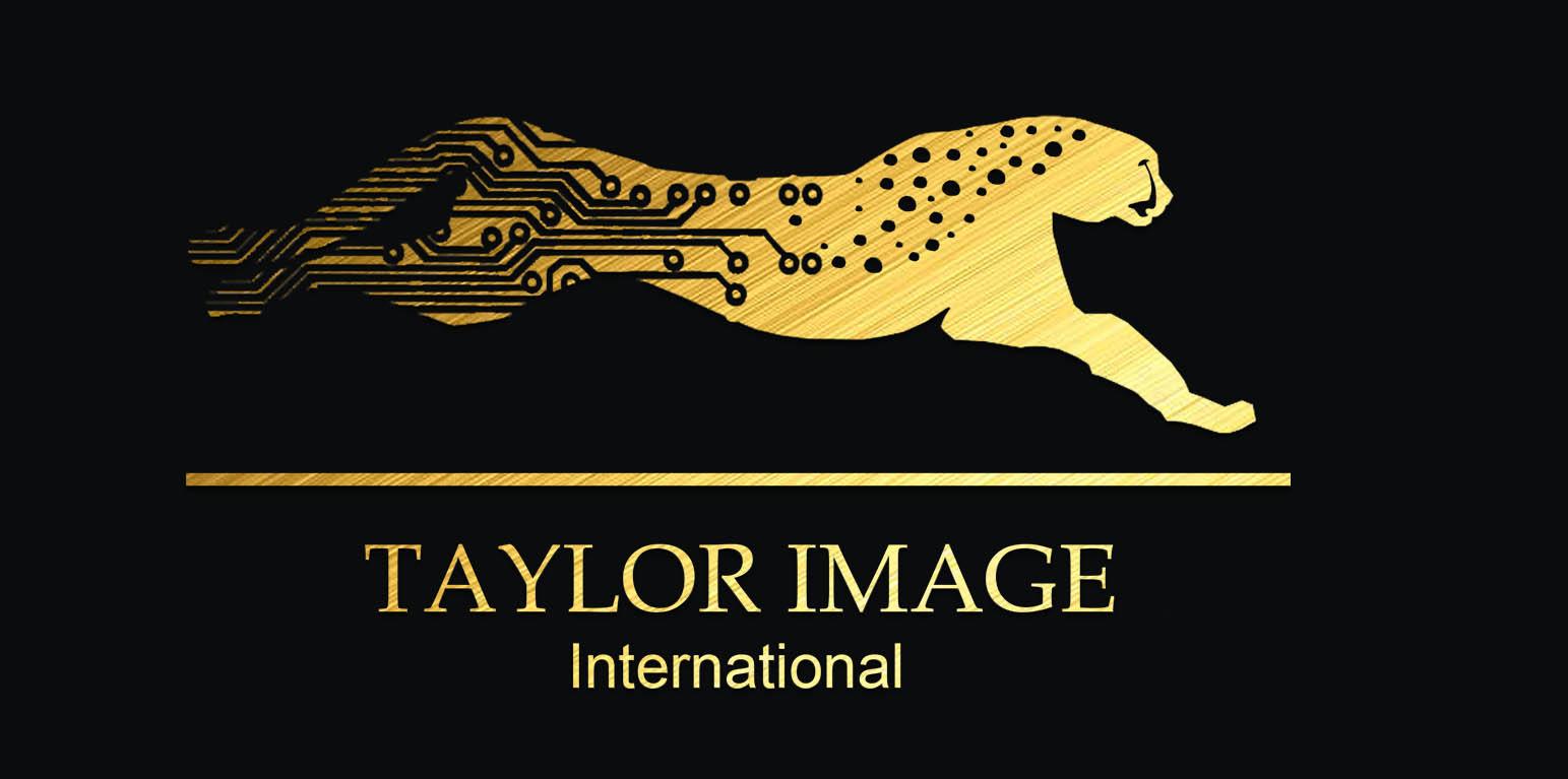 Taylor image International gold logo cheetah
